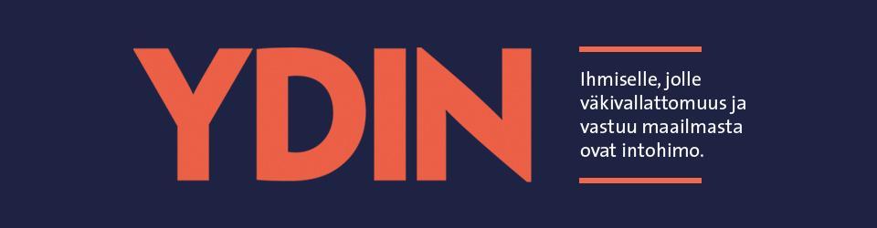 Ydin-lehden logo